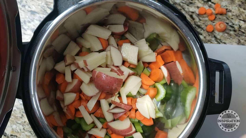 instant pot vegan corn soup