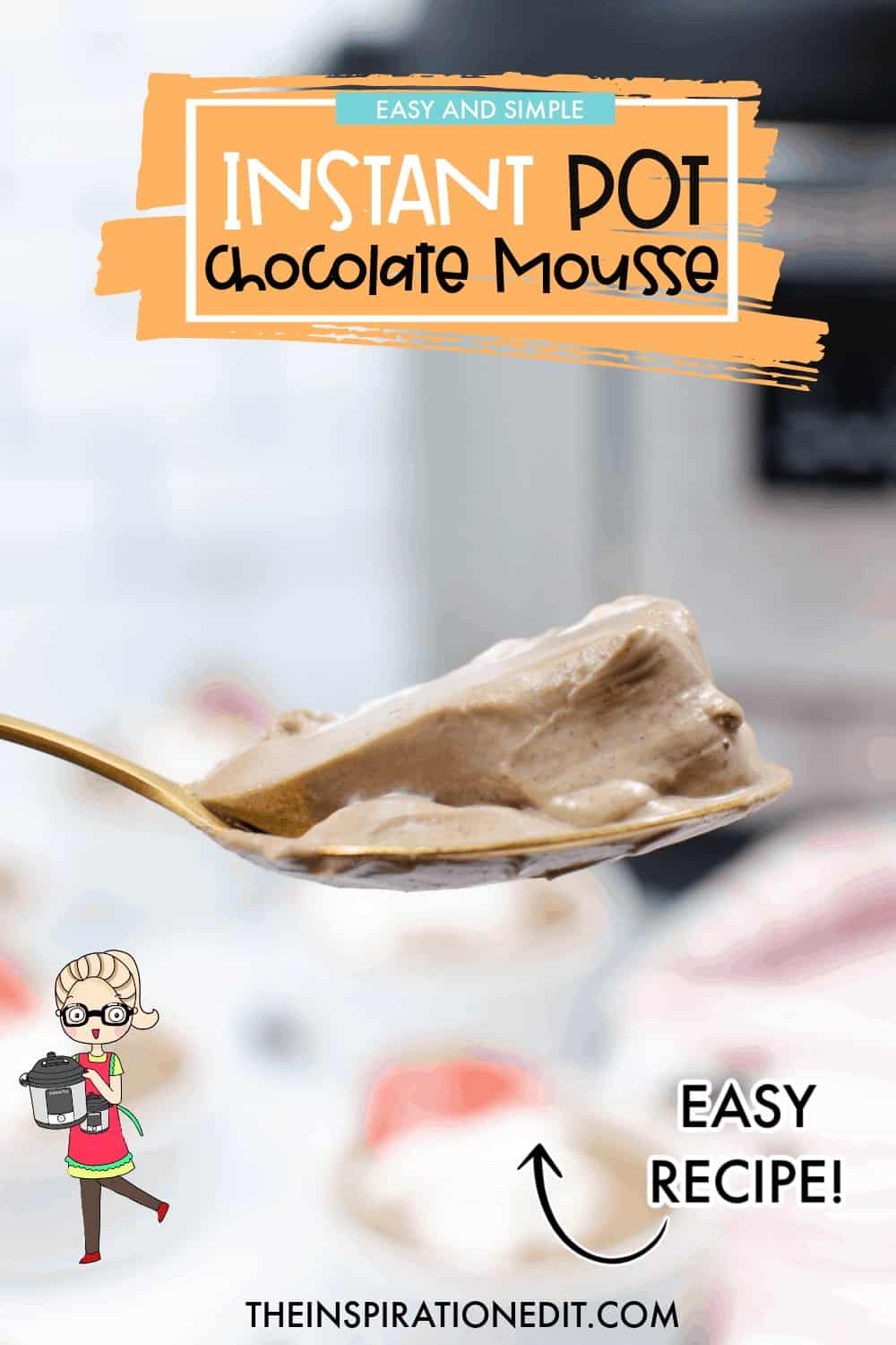the best instant pot chocolate mousse