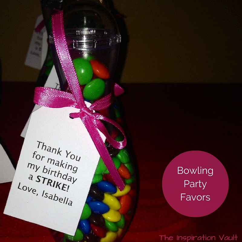 Bowling Party Favors The Inspiration Vault