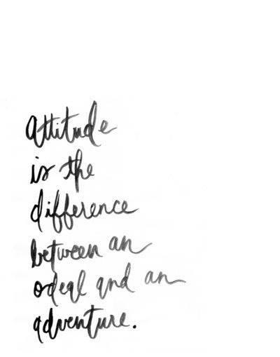 adventure attitude
