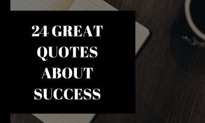 success quotes - 24 great quotes about success