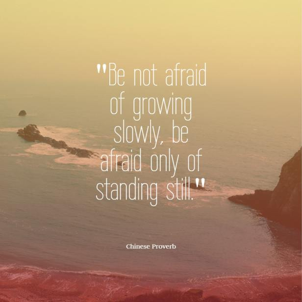 Be not afraid of growing slowly, be afraid only of standing still Chinese proverb quotes chinese proverbs wisdom chinese proverbs about success family love chinese proverbs motivation funny learning
