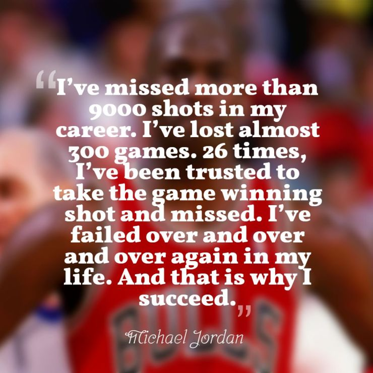 Michael Jordan Quotes success