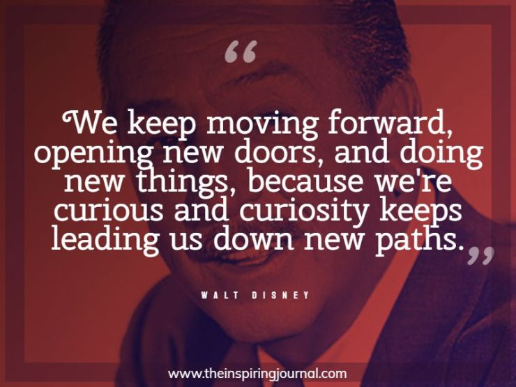 walt disney quotes about keep moving forward