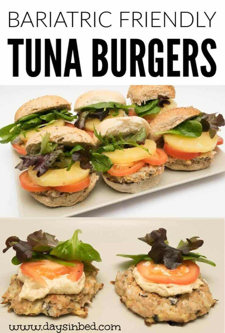 bariatric friendly tuna burger recipe