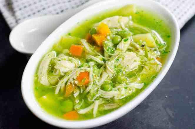 instant pot Peruvian Soup