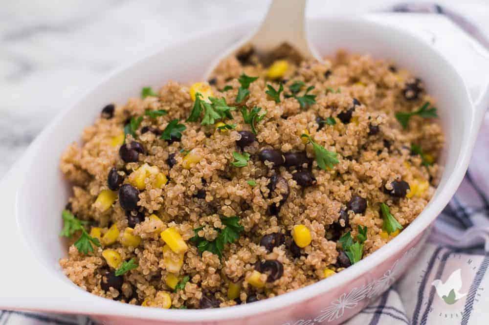 Pressure-Cooker-Black-Bean-and-Corn-Quinoa