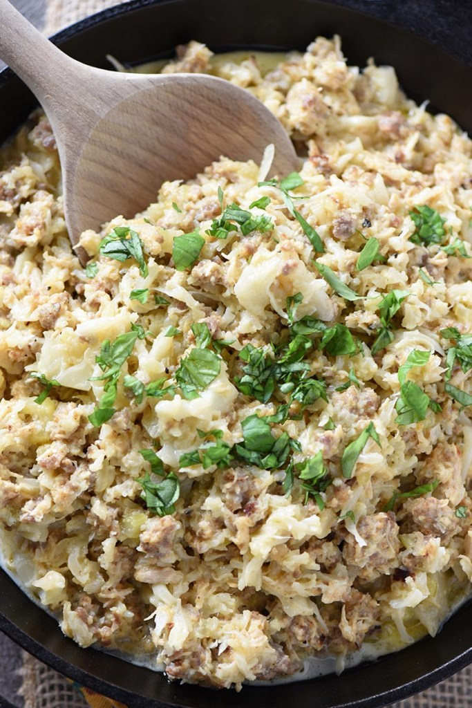 Instant-Pot-Cauliflower-Sausage-and-Chicken-Casserole