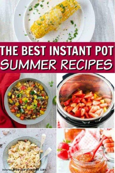 instant pot summer recipes