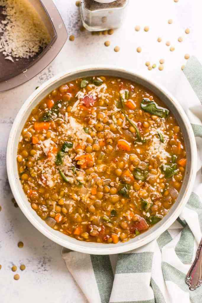 instant-pot-lentil-soup 2