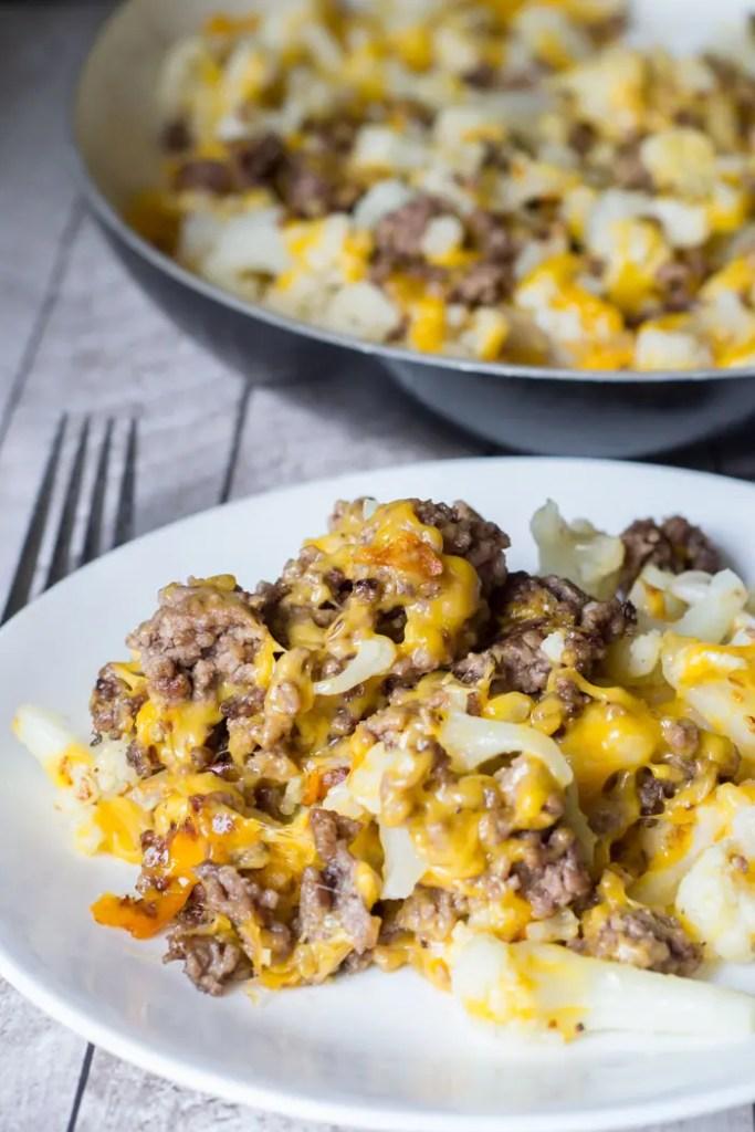 Instant-Pot-Cauliflower-Ground-Beef-Hash
