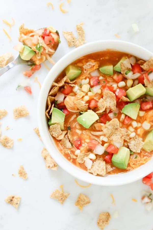 Instant-Pot-creamy-enchilada-soup