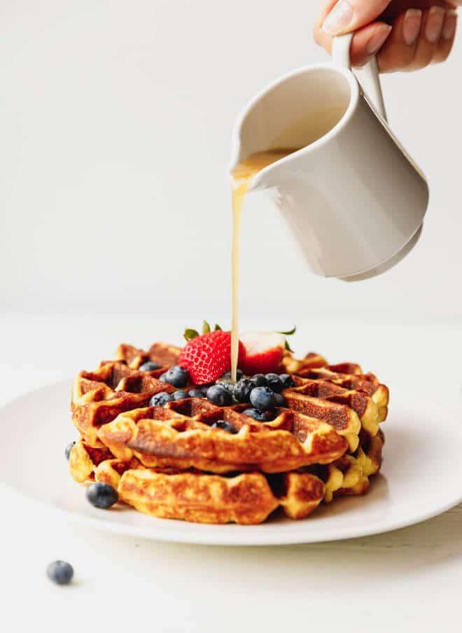 Instant-Pot-Belgian-Keto-Waffles