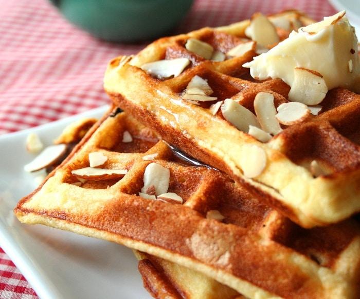 Instant-Pot-Almond-Flour-Yogurt-Waffle
