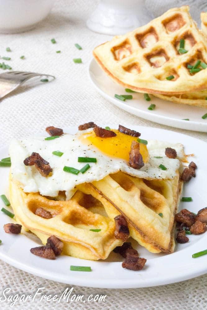 Instant-Pot-Low-Carb-Cloud-Bread-Cheddar-Waffles