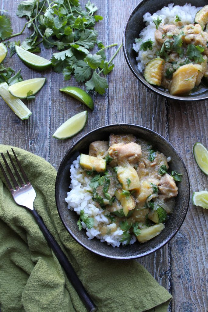 Instant-Pot-green-curry-chicken