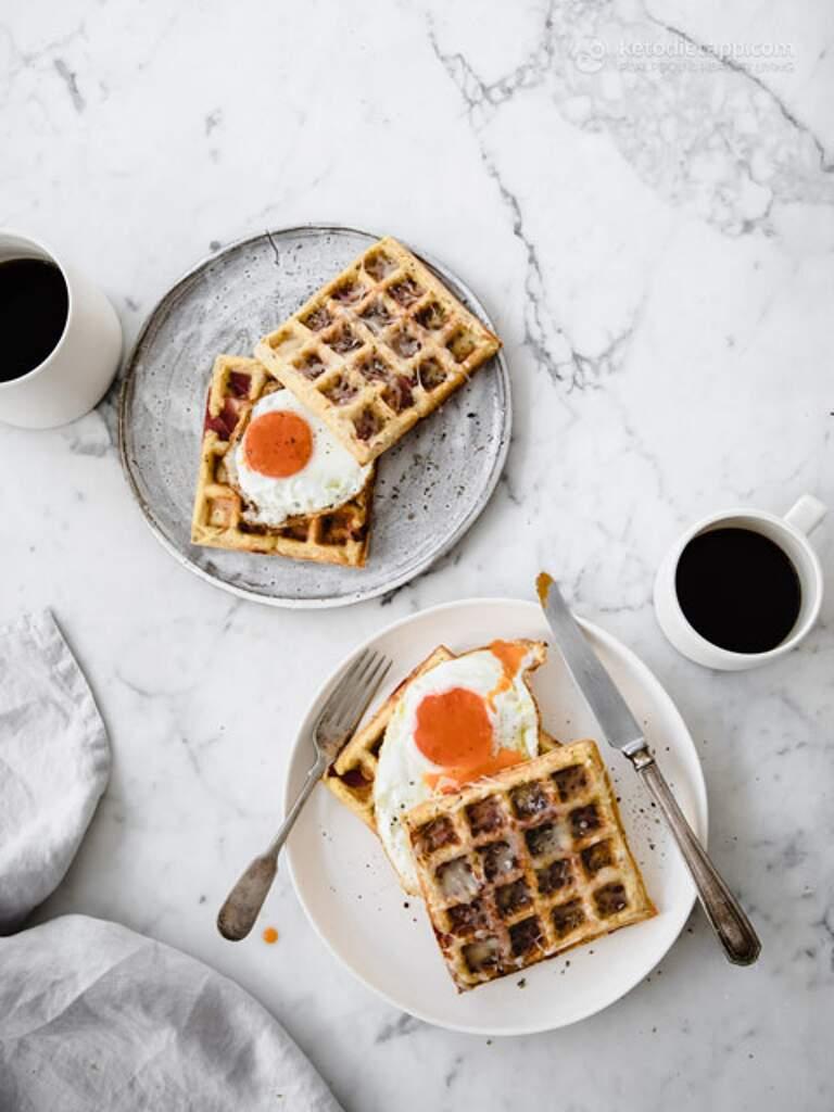 Instant-Pot-keto-bacon-cheese-waffles