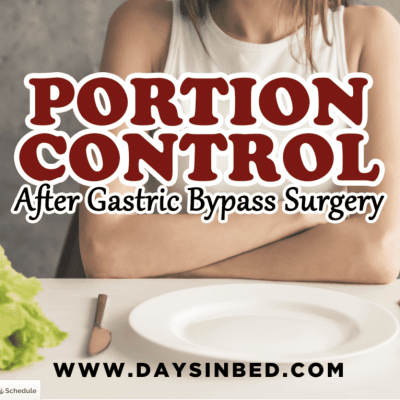 portion control after gastric bypass surgery