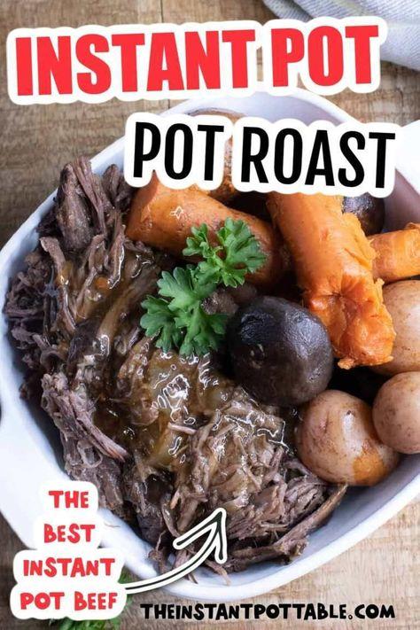 instant pot pot roast beef