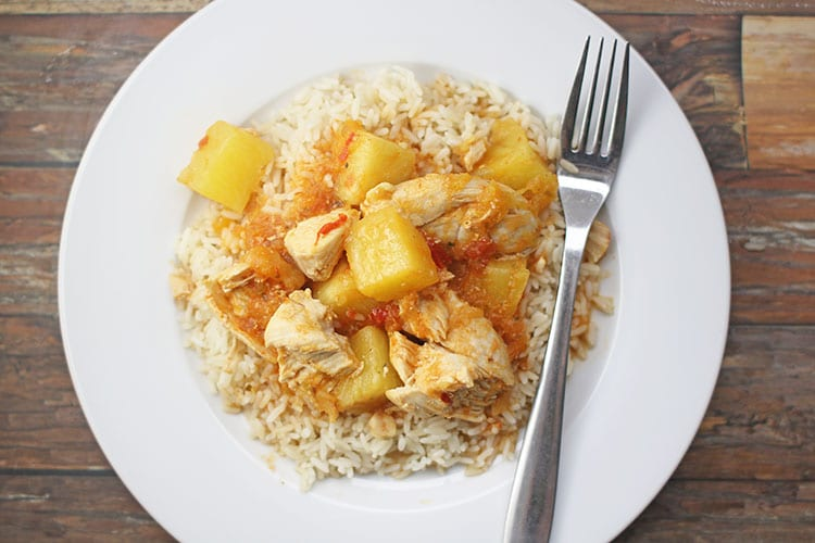 Instant-Pot-Mango-Pineapple-Chicken