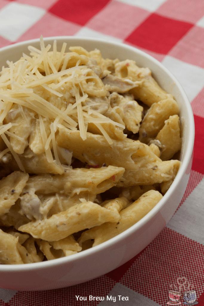 Italian-Creamy-Chicken-Pasta-Recipe