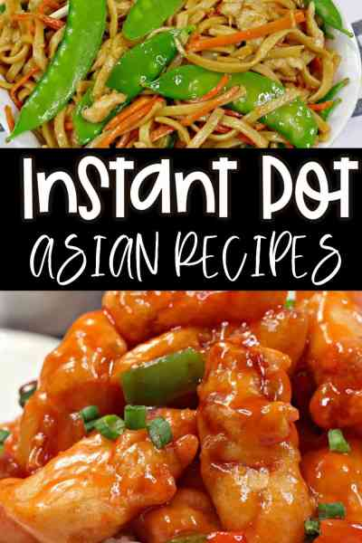 asian recipes for the instant pot