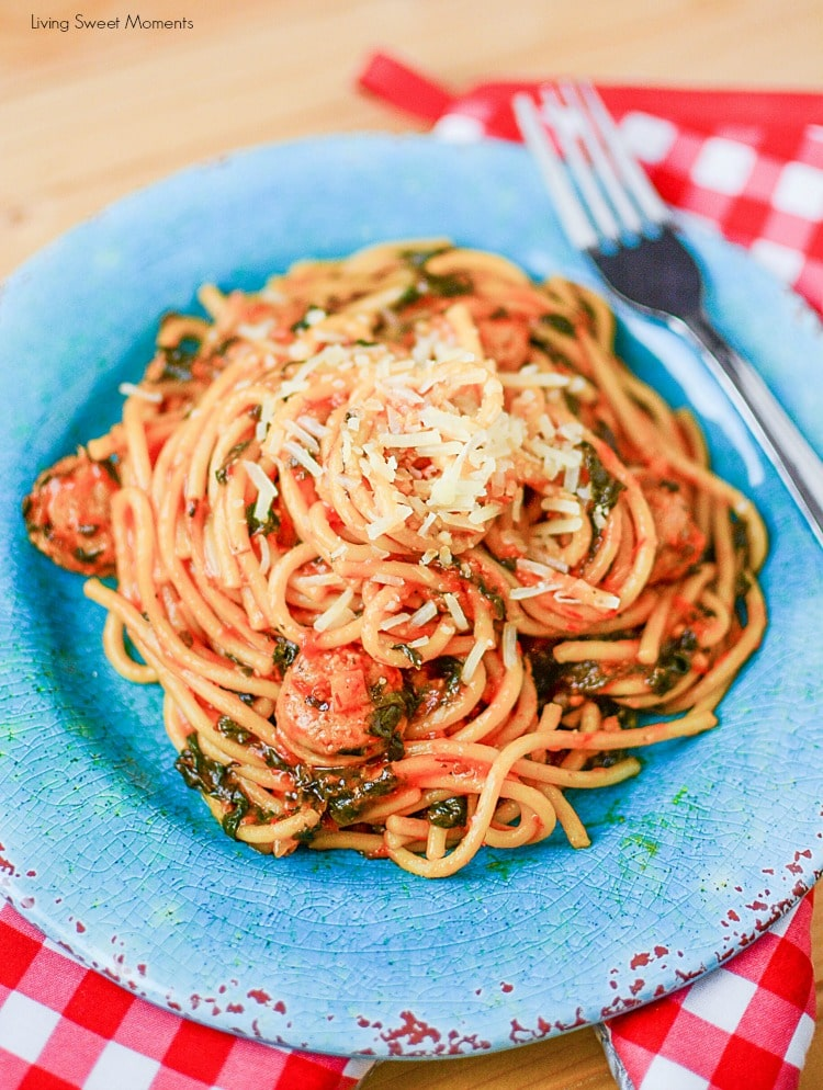 instant-pot-sausage-spinach-pasta
