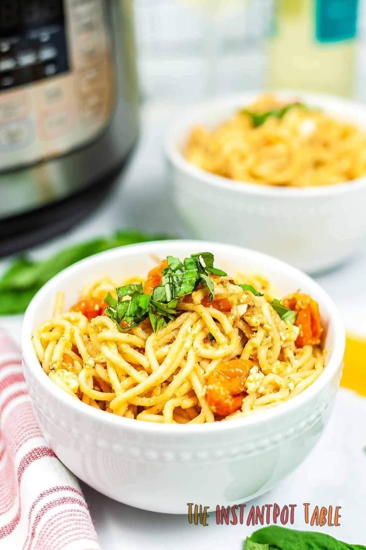 Viral Instant Pot Tik Tok Feta Pasta Finals