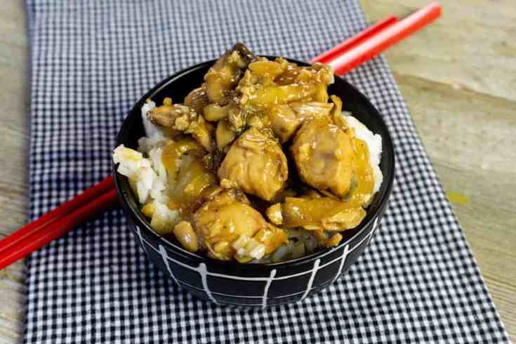 Teriyaki Chicken with mushroom