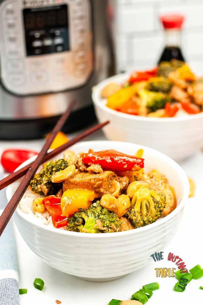 Instant Pot Cashew Chicken Finals