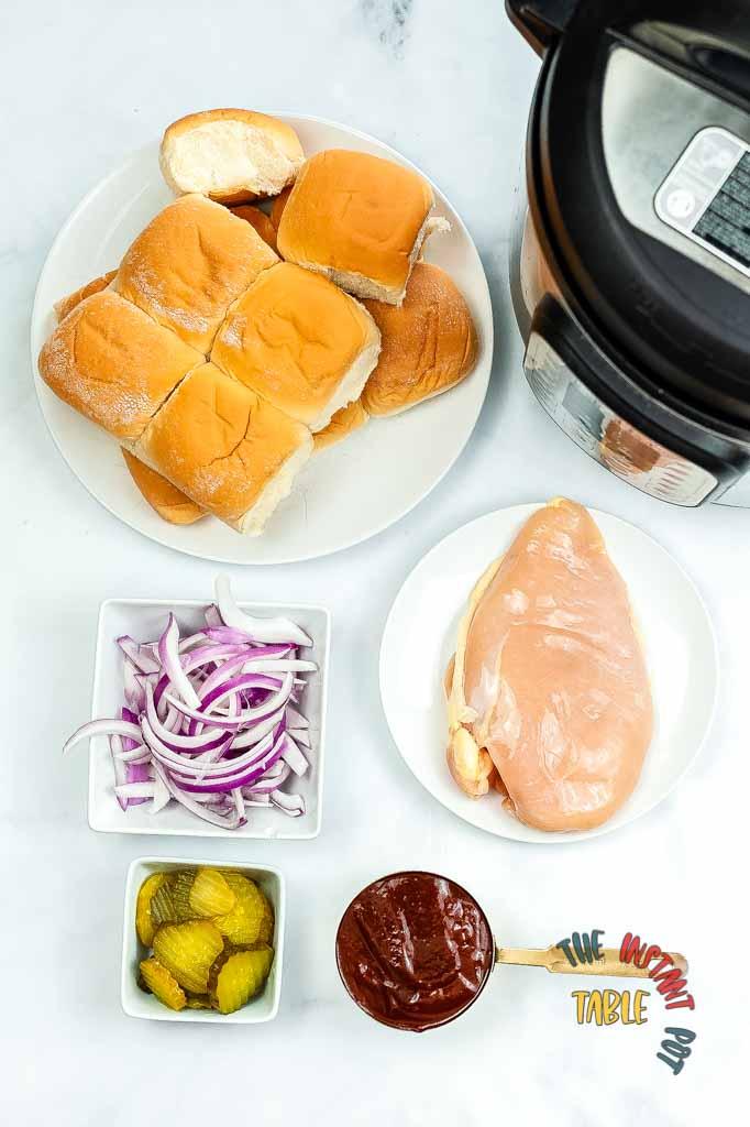 BBQ-Chicken-Sliders-Ingredients