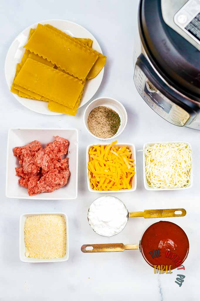 Cheese-Lasagna-Recipe-Ingredients