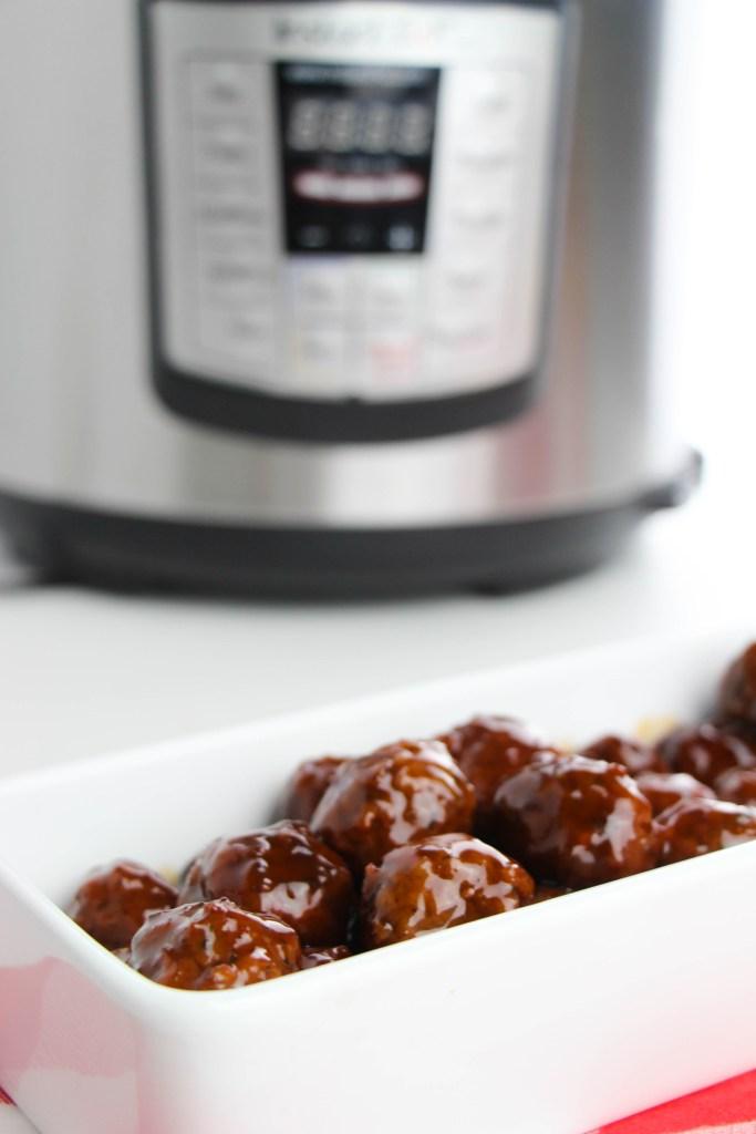 Instant Pot Party Meatballs