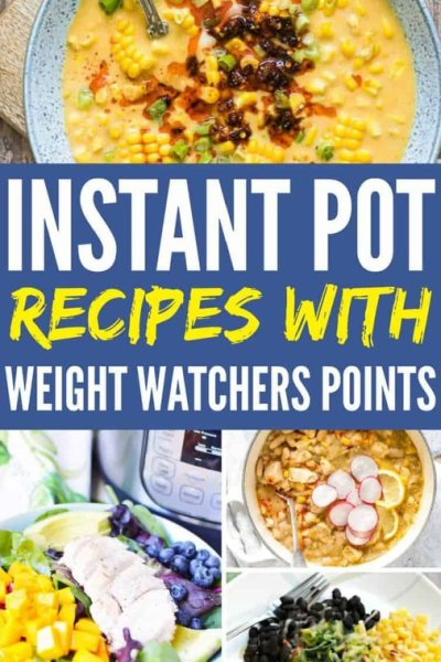 instant pot recipes with weight watchers point