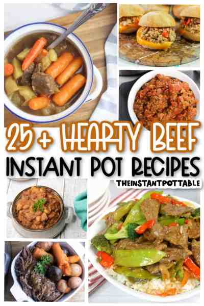 beef-recipes using the instant pot