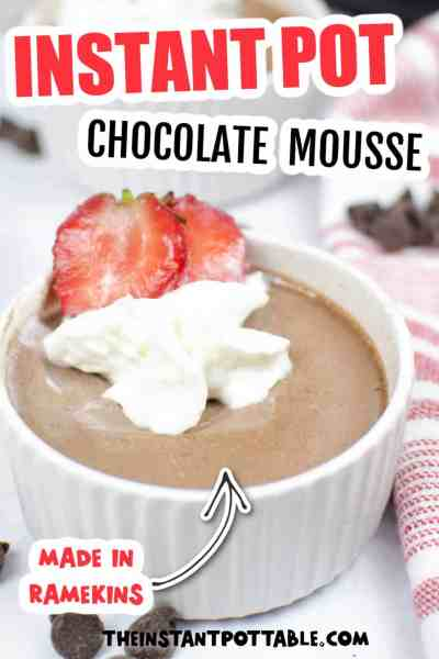 instant pot chocolate mousse