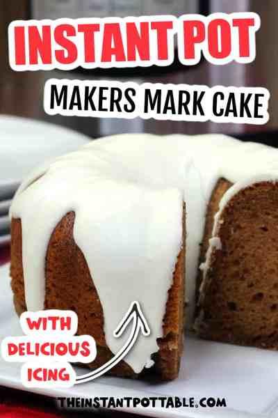 instant pot makers mark cake