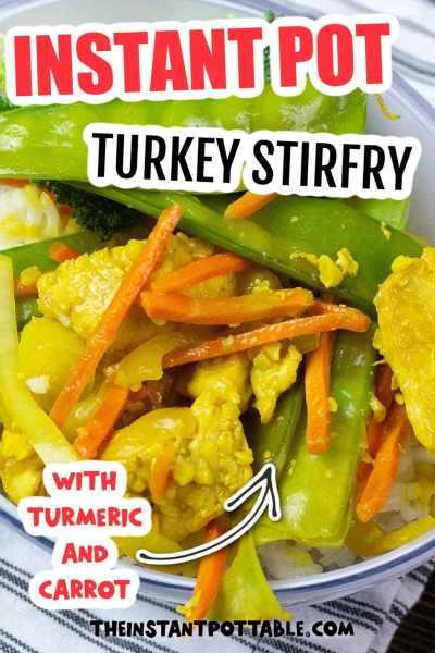 turkey stir fry instant pot recipe