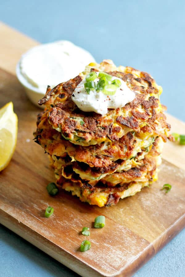 Instant-Pot-Zucchini-and-Halloumi-Fritters