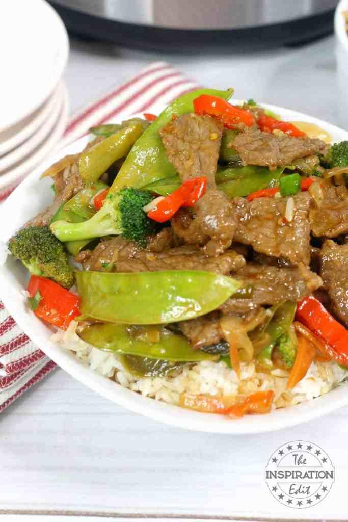 instant pot stir fry beef recipe