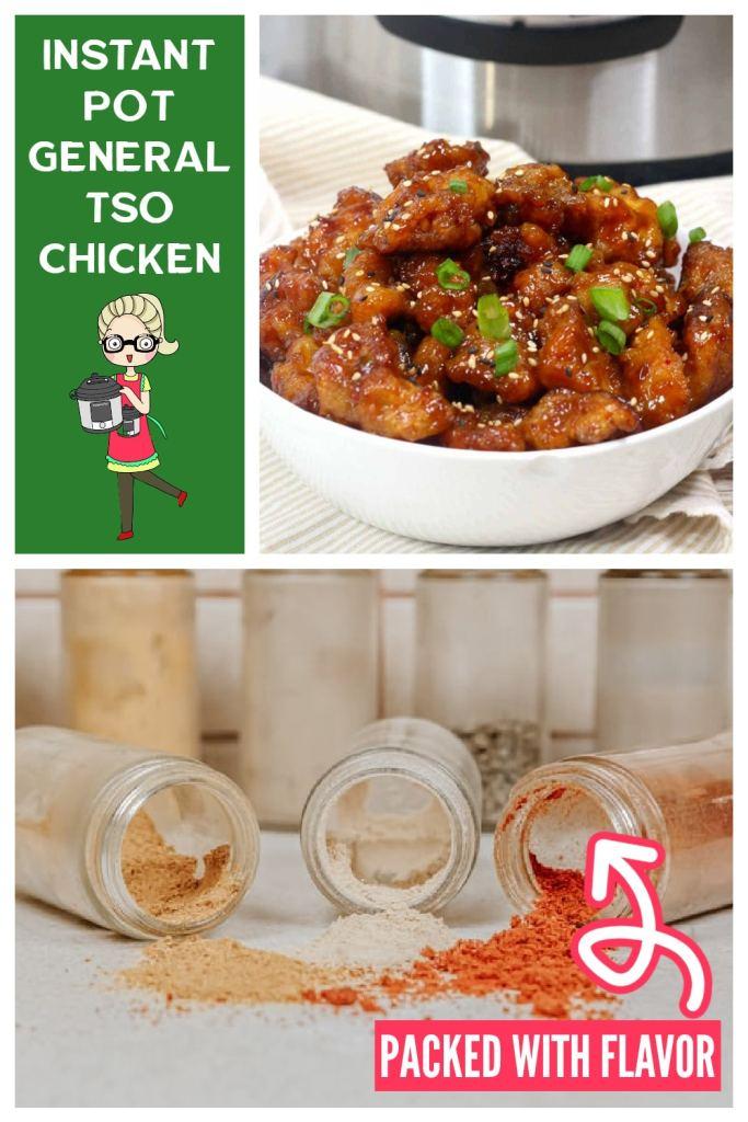 General tso chicken instant pot recipe