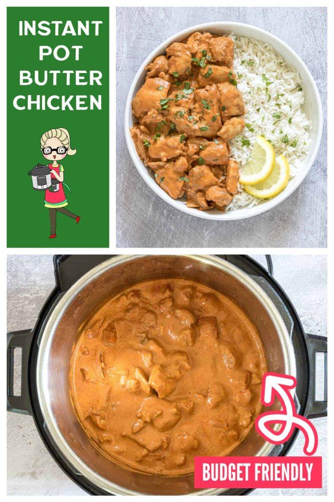 creamy nutter chicken recipe in the instant pot