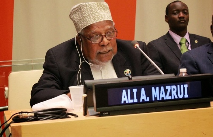 Professor Ali Mazrui is dead