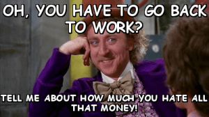 get back to work money