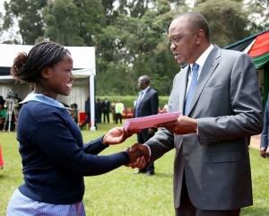 uhuru handshake