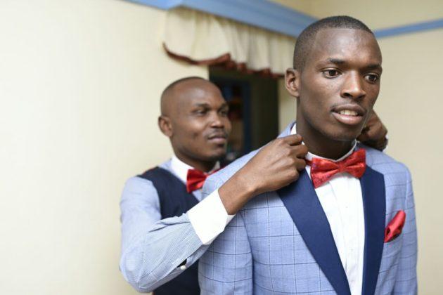 Photos from 100 shilling couple's lavish 3.5Mill wedding