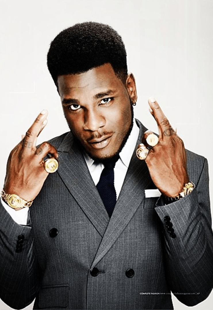 Burna boy insults Kenyan artists and fans, see how it went