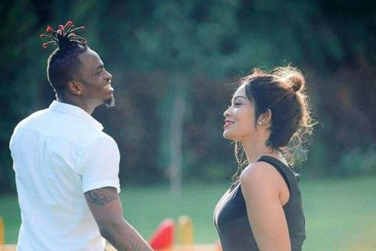 Diamond and Zari living it up in Kenya