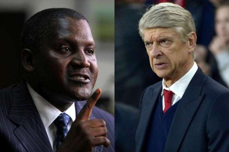 If I buy Arsenal I'll fire Wenger, Aliko Dangote