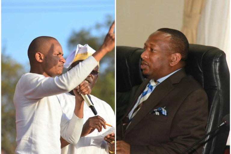 Babu responds to Sonko with an extremely vulgar message (Video)